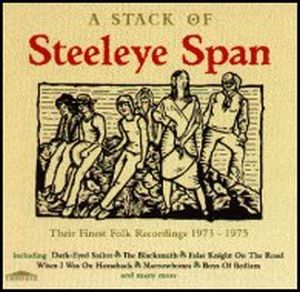 Steeleye Span A stack of Steeleye Span album cover