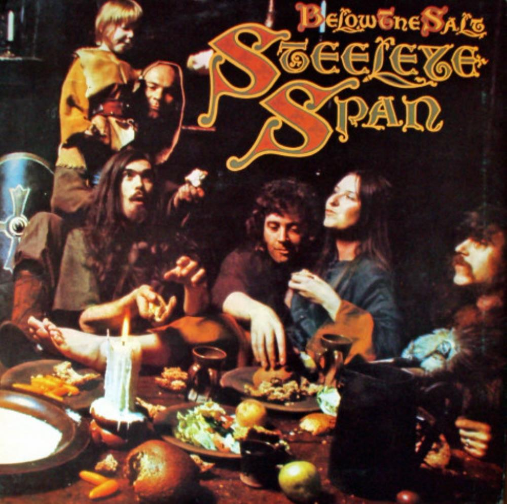 Below The Salt by STEELEYE SPAN album cover