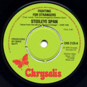 Steeleye Span Fighting for Strangers  album cover