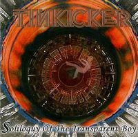 Tinkicker - Soliloquy of the Transparent Boy CD (album) cover