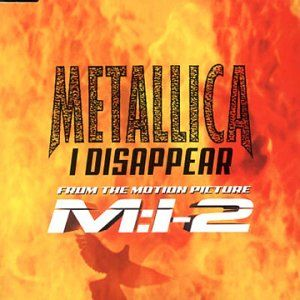 Metallica I Disappear album cover