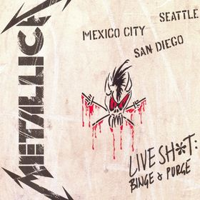 Metallica - Live Sh*t: Binge and Purge CD (album) cover