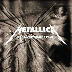 All Nightmare Long by METALLICA album cover