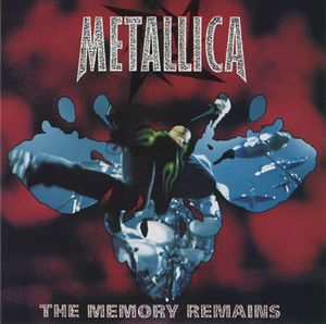 Metallica The Memory Remains album cover