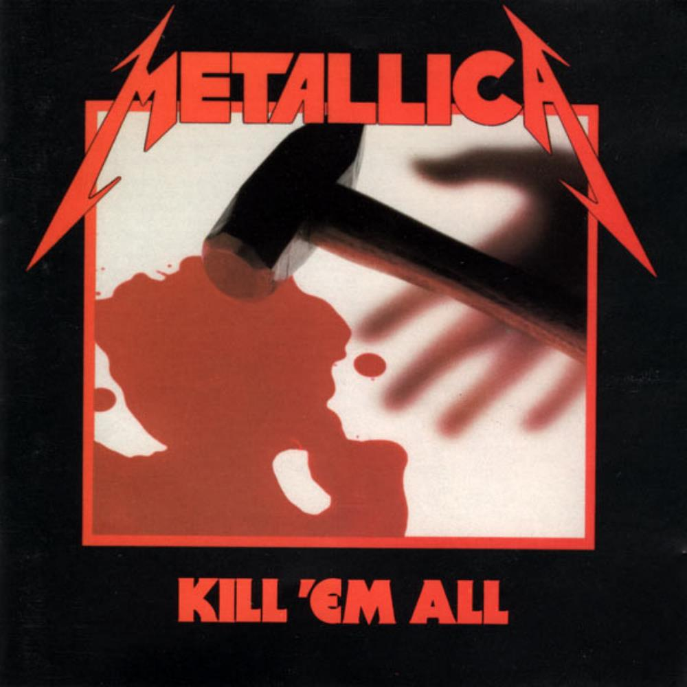 Kill 'Em All by METALLICA album cover