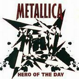 Metallica Hero Of The Day album cover