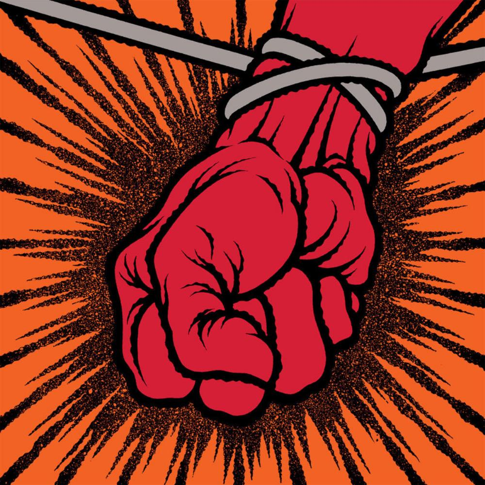 St. Anger by METALLICA album cover