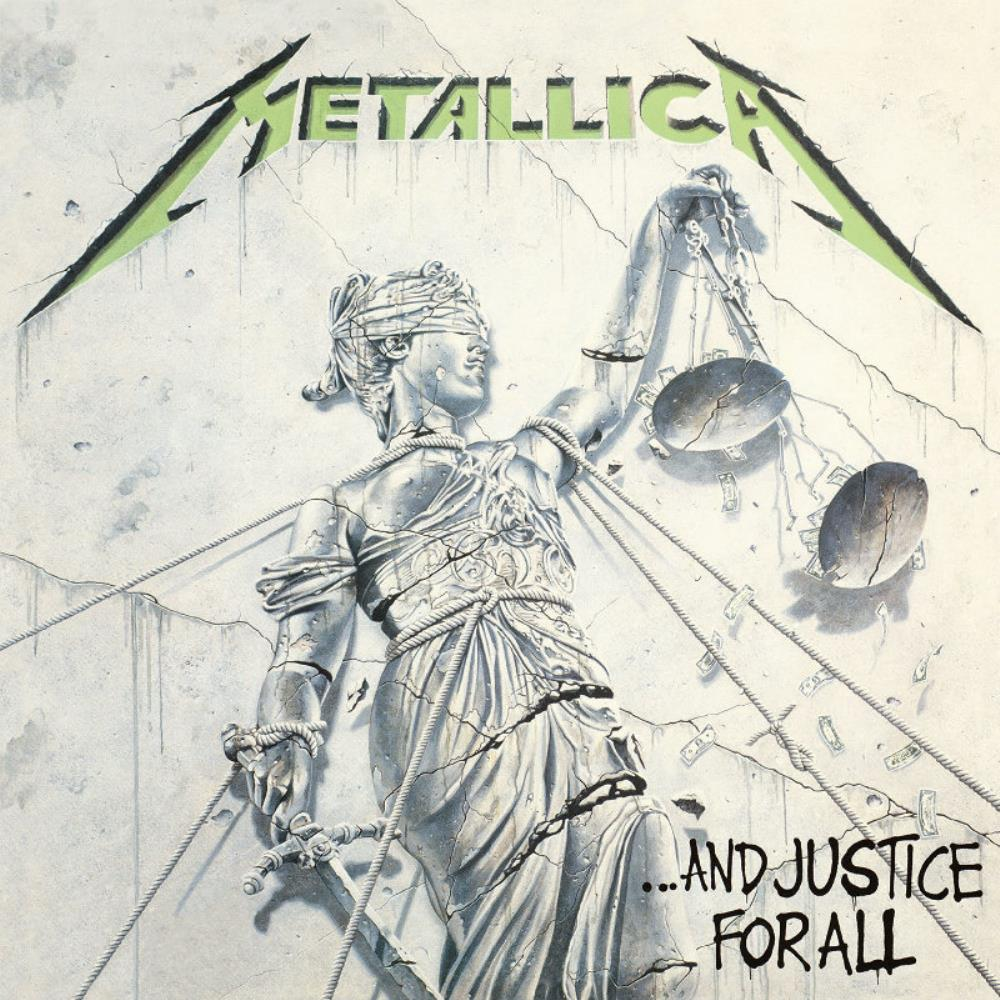 Metallica - ...And Justice For All CD (album) cover