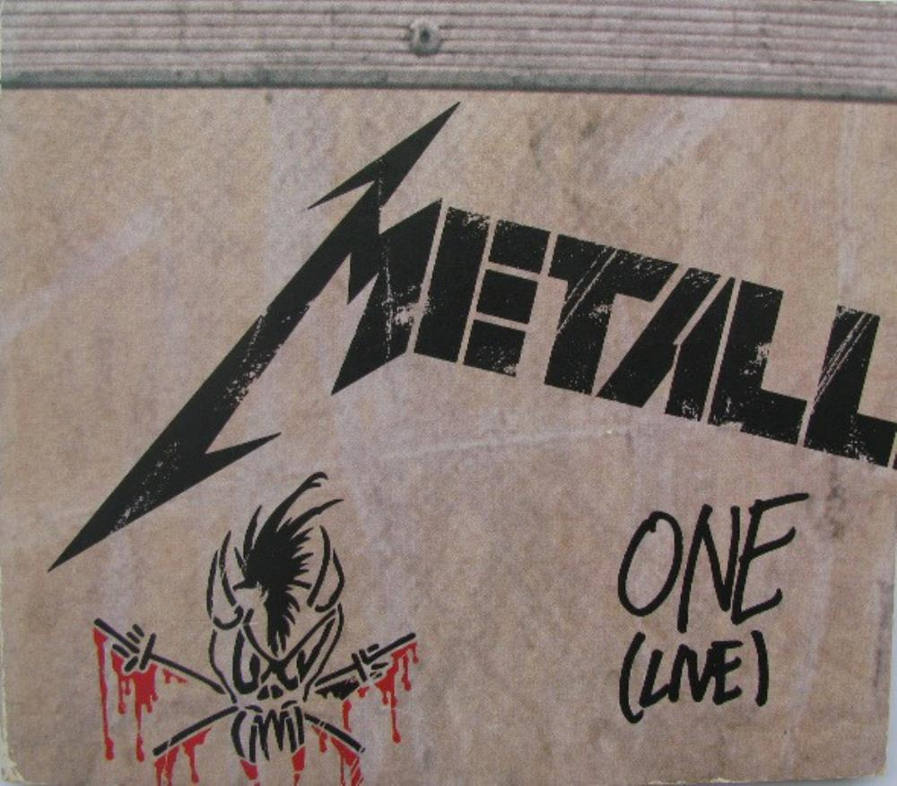 One (Live) by METALLICA album cover