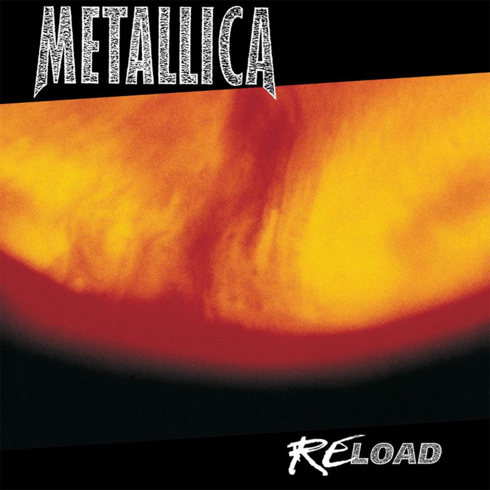 Metallica - Reload CD (album) cover