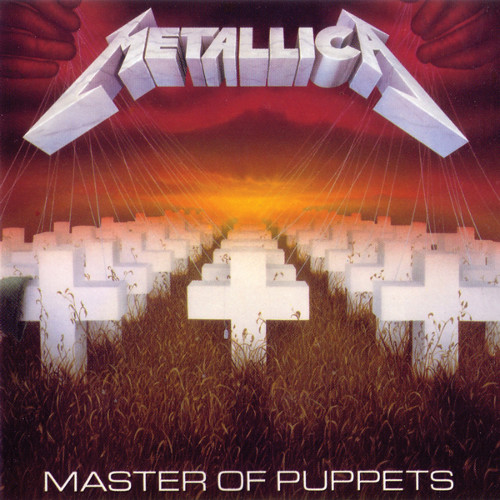 Metallica - Master Of Puppets CD (album) cover