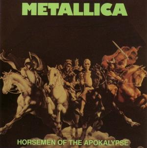 Metallica Horsemen Of The Apocalypse demo album cover