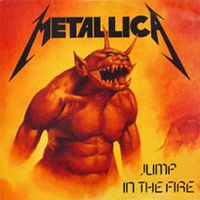 Metallica Jump in the Fire album cover
