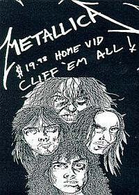 Metallica Cliff 'Em All album cover