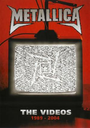The Videos 1989-2004 by METALLICA album cover