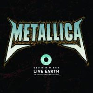 Metallica Live From Live Earth album cover