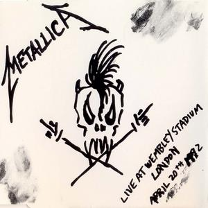 Metallica Live at Wembley Stadium album cover
