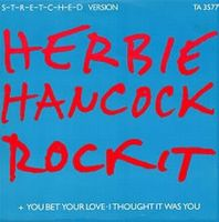 Herbie Hancock Rockit album cover