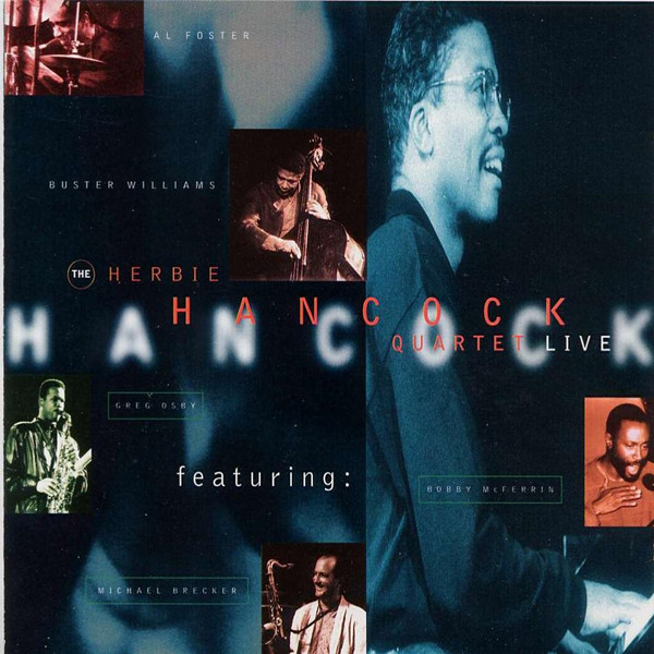 Herbie Hancock Quartet Live album cover