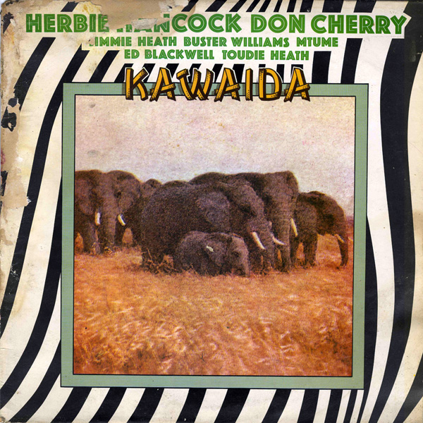 Herbie Hancock Kawaida (with Don Cherry) album cover