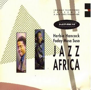Herbie Hancock Jazz Africa (with Foday Musa Suso) album cover