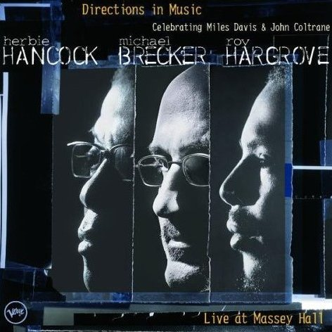 Herbie Hancock Directions in Music: Live at Massey Hall album cover
