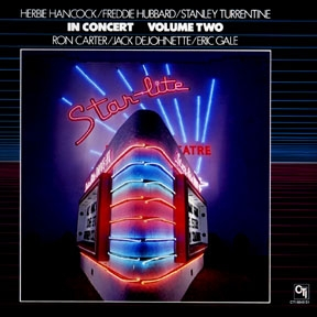 Herbie Hancock - In Concert, Vol. 2 (with Stanley Turrentine, Freddie Hubbard, Jack DeJohnette, Ron Carter and Eric Gale) CD (album) cover