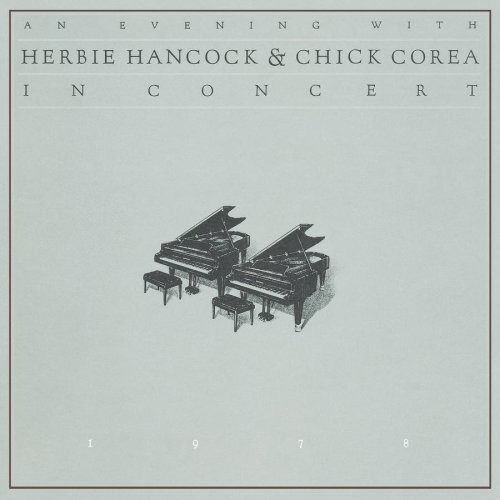 Herbie Hancock - An Evening with Herbie Hancock & Chick Corea CD (album) cover