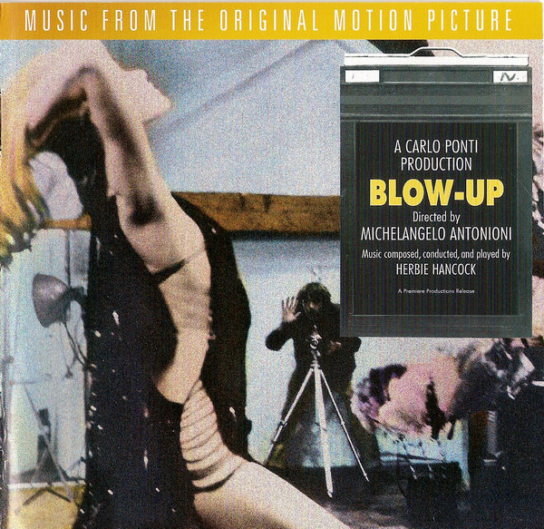 Herbie Hancock - Blow-Up [OST split with The Yardbirds] CD (album) cover