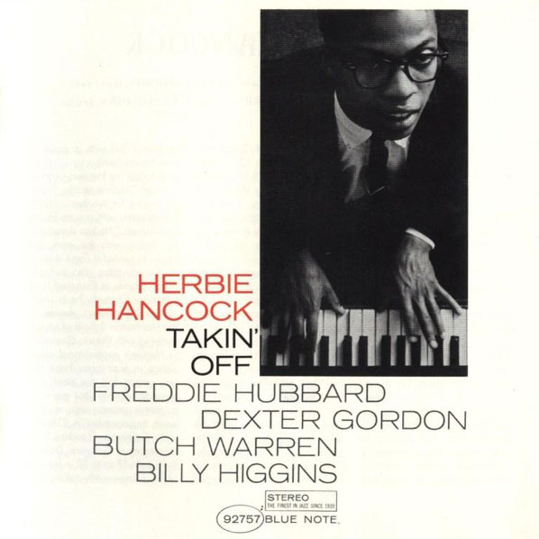 Herbie Hancock Takin' Off album cover