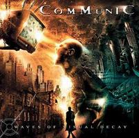 Communic Waves of Visual Decay album cover