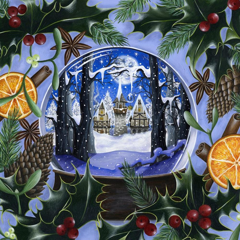 Big Big Train - Merry Christmas CD (album) cover
