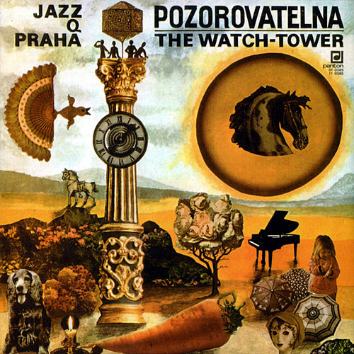 Pozorovatelna (The Watch-tower) by JAZZ Q album cover