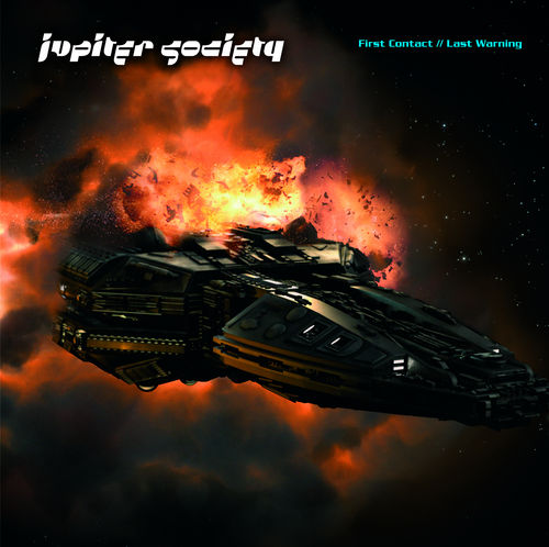 First Contact / Last Warning by JUPITER SOCIETY album cover