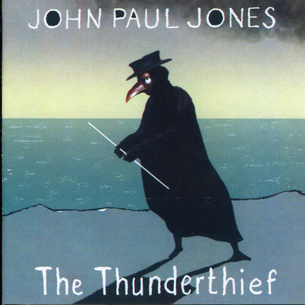 The Thunderthief by JONES, JOHN PAUL album cover