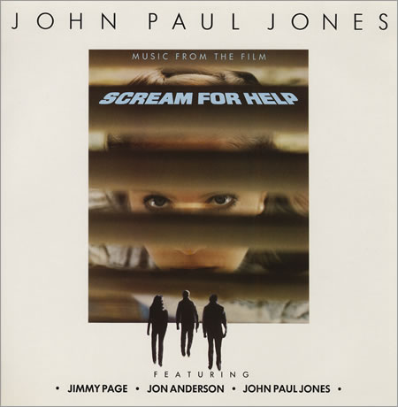 Scream for Help by JONES, JOHN PAUL album cover