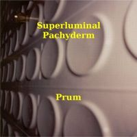 Superluminal Pachyderm - Prum CD (album) cover