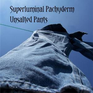 Superluminal Pachyderm Unsalted Pants album cover