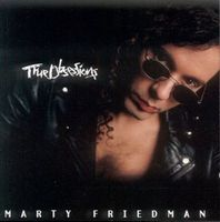 Marty Friedman True Obsessions album cover