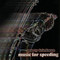 Marty Friedman Music for Speeding album cover