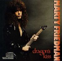 Marty Friedman - Dragon's Kiss  CD (album) cover
