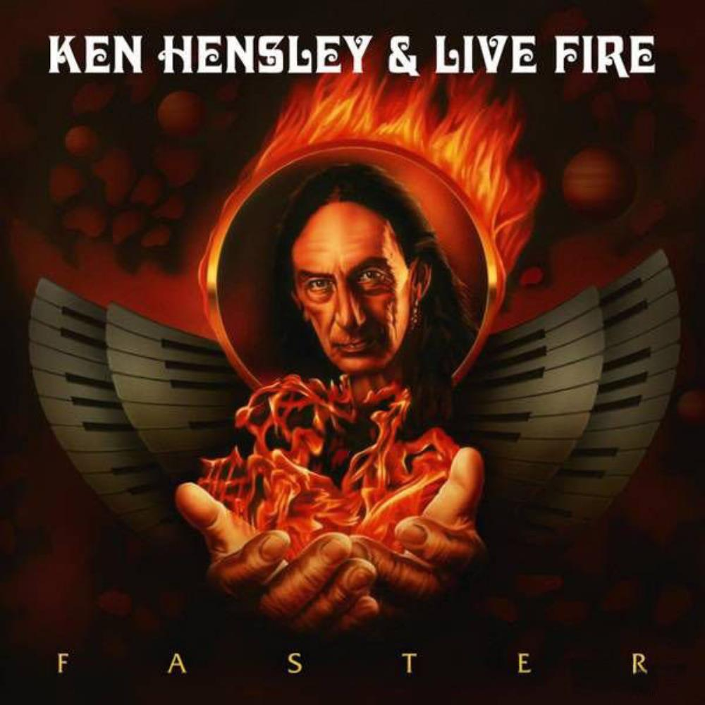 Ken Hensley Ken Hensley & Live Fire: Faster album cover