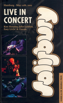 Ken Hensley The Hensley | Lawton Band. Salisbury Live In Concert (VHS + CD) album cover
