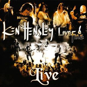 Ken Hensley - Ken Hensley & Live Fire - Live!! CD (album) cover
