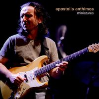 Apostolis Anthimos - Miniatures CD (album) cover