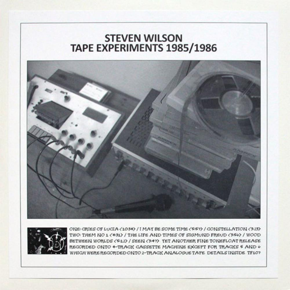 Steven Wilson - Tape Experiments 1985 - 86 CD (album) cover