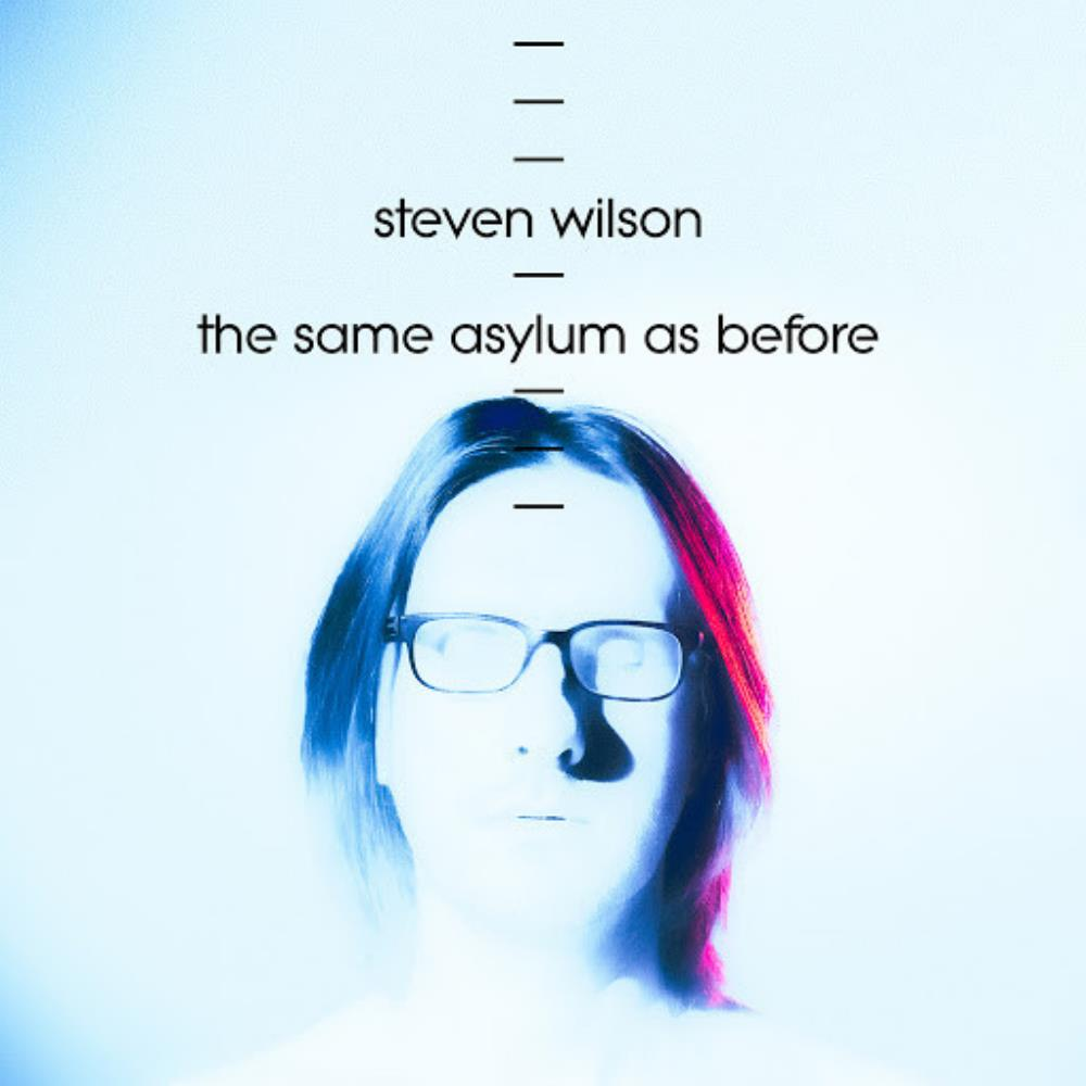 Steven Wilson The Same Asylum as Before album cover