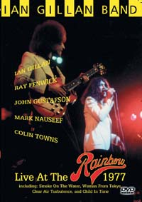 Ian Gillan Band Live at The Rainbow 1977 album cover