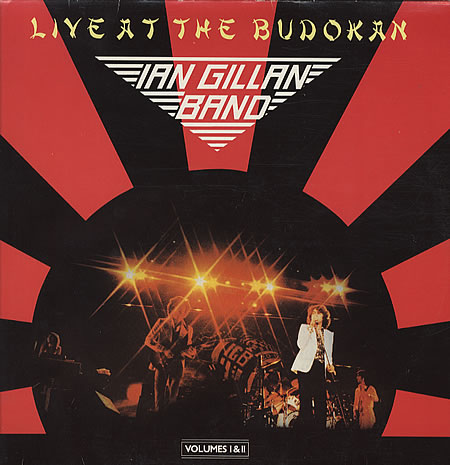 Live At Budokan by GILLAN BAND, IAN album cover