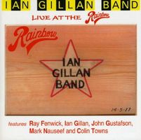 Ian Gillan Band Ian Gillan Band Live At The Rainbow album cover